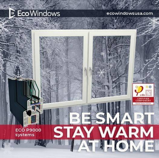 Passive House certified windows