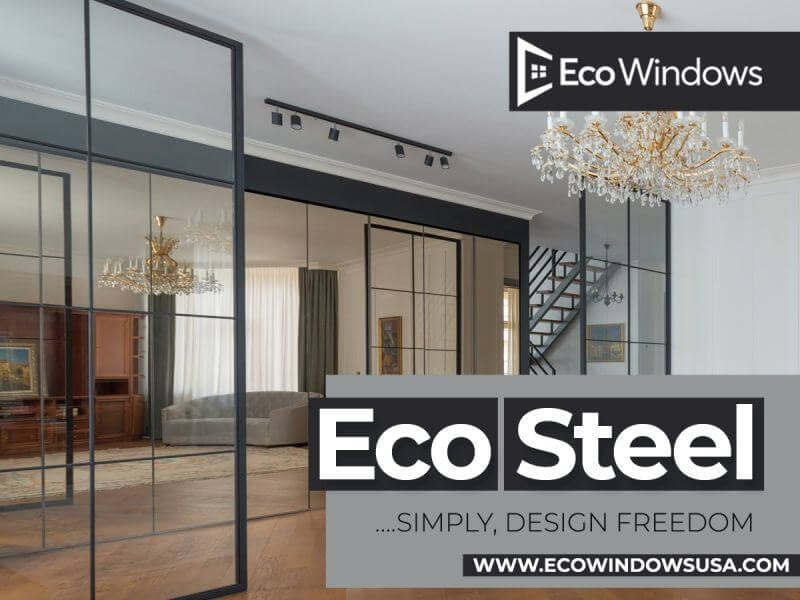 Eco Steel – French, Sliding or folding doors for your interior openings. All made to your specifications