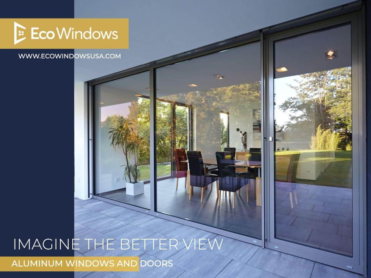 aluminum window or door