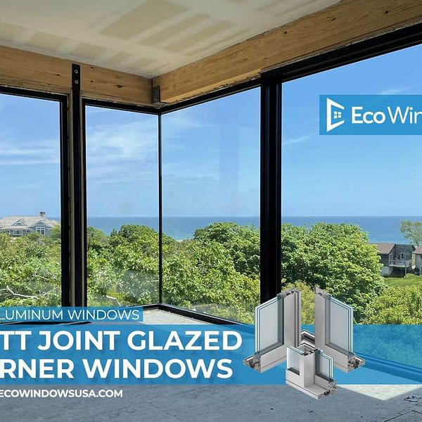 Eco A70 Series Aluminum Windows