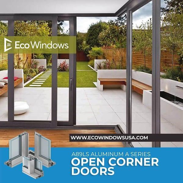 Eco A89LS - Open Corner Doors