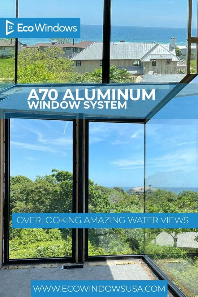 Eco A series aluminum windows and doors