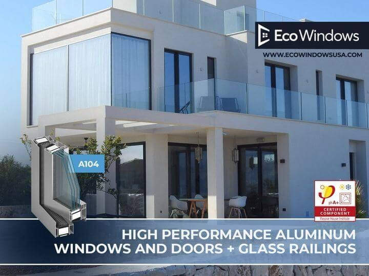 A104 - Aluminum windows